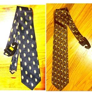 Other - 👑 NWT Two 100% Silk Ties